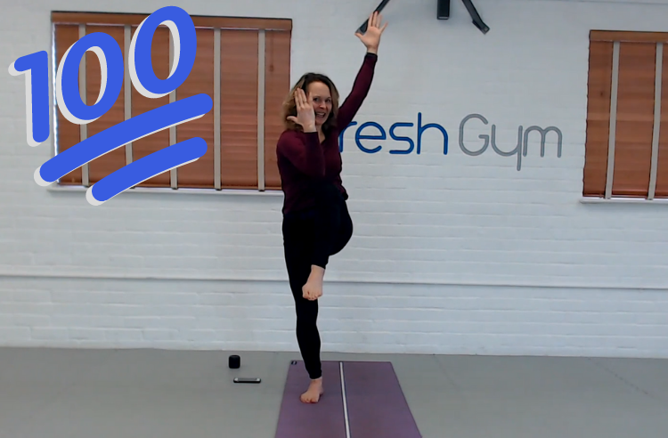 Pilates with Sarah at Fresh Gym