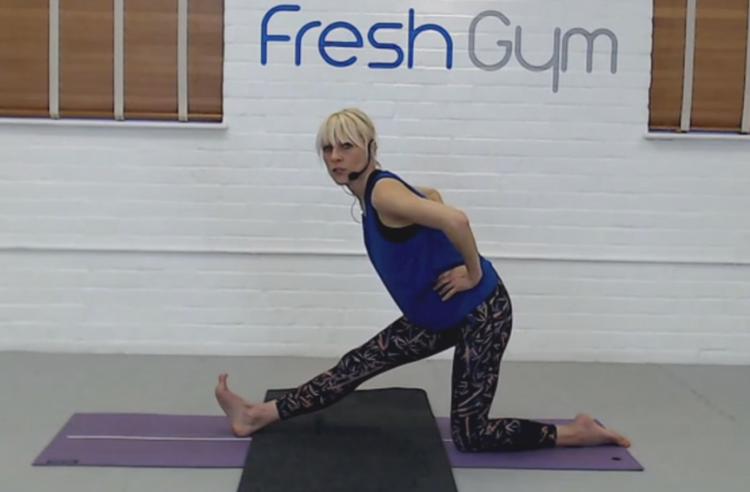 Yoga with Hilary at Fresh Gym