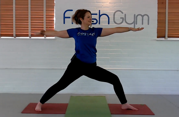 Yoga with Fiona at Fresh Gym