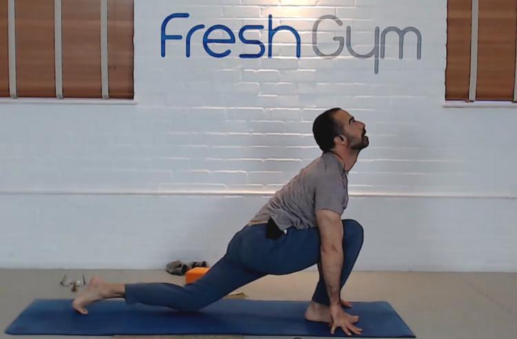 Yoga with Candido at Fresh Gym