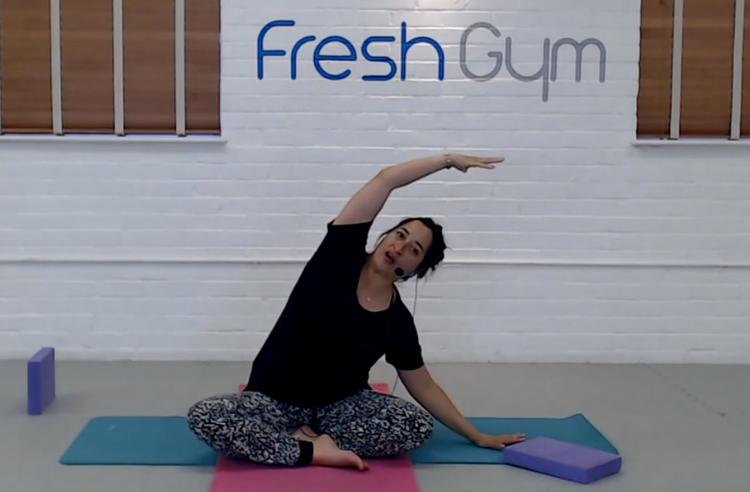 Yoga at Fresh Gym Shepperton